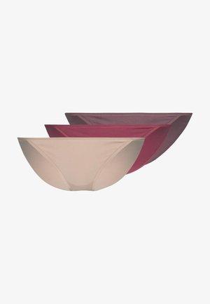 3 PACK - Alushousut - pink/nude/rosé