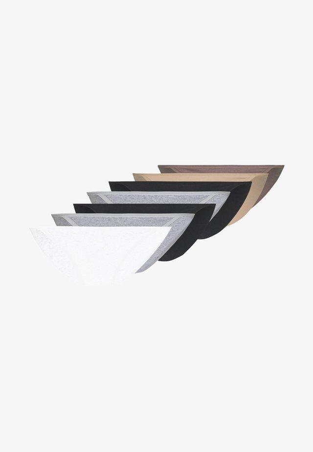 7 PACK - Underbukse - black/pink/white