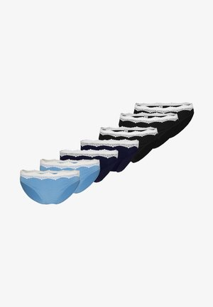 7 PACK - Slip - dark blue/blue/black