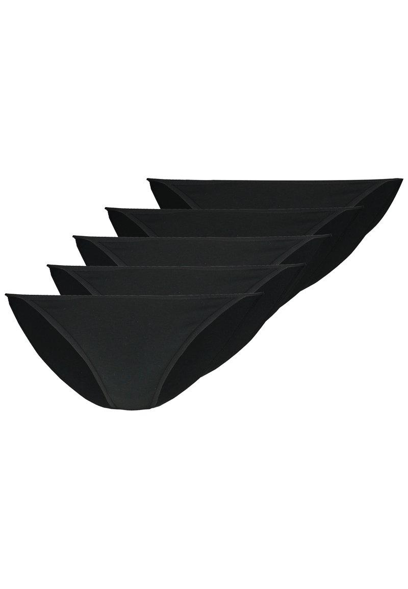 Anna Field - 5 PACK - Slip - black