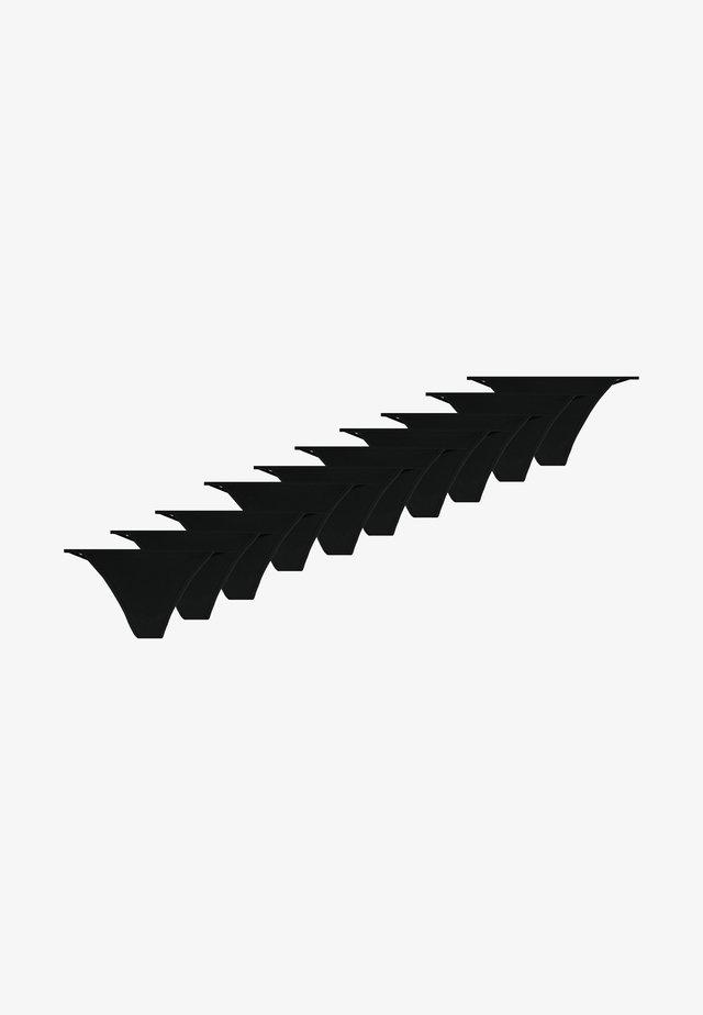 10 PACK - String - black