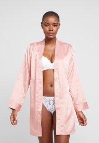 Anna Field - 5 PACK - Figi - pink/nude/white - 1