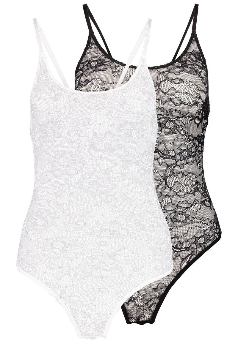 Anna Field - 2 PACK - Body - white/black