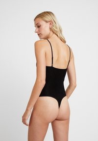 Anna Field - KATERINA VELVET BURNOUT - Body - black - 2
