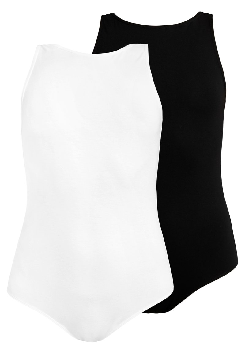 Anna Field - 2 PACK - Body - white/black