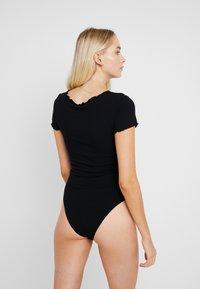 Anna Field - 2 PACK - Pijama - black/nude - 3