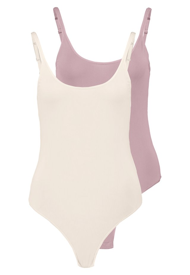 2 PACK - Body - nude/pink