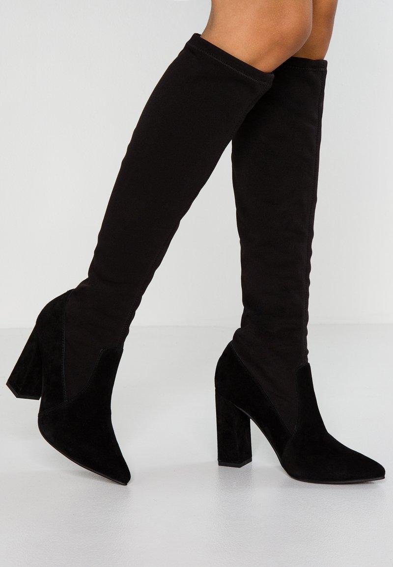 Anna Field Select - Kozačky na vysokém podpatku - black