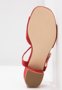 Anna Field Select - LEATHER SANDALS - Sandali - red - 6