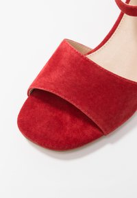 Anna Field Select - LEATHER SANDALS - Sandali - red - 2