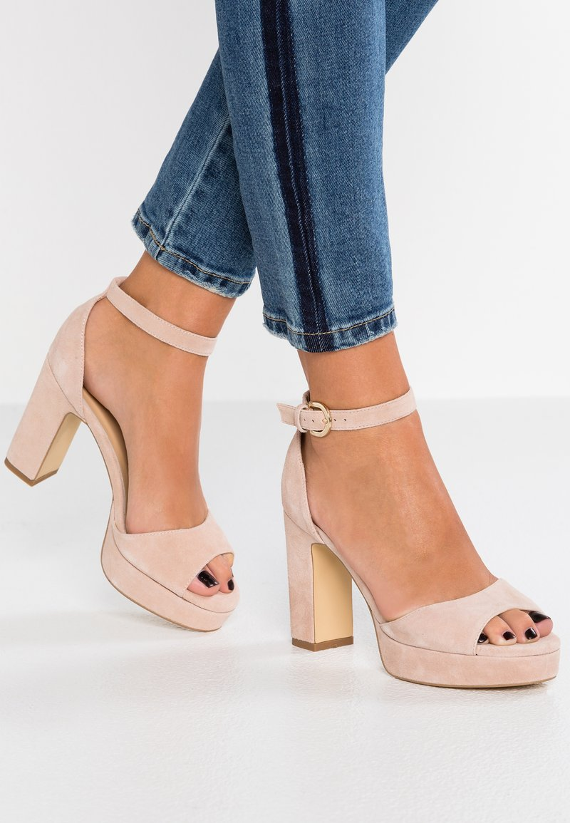 Anna Field Select - High heeled sandals - nude