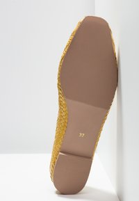 Anna Field Select - LEATHER BALLET PUMPS - Ballerine - yellow - 6