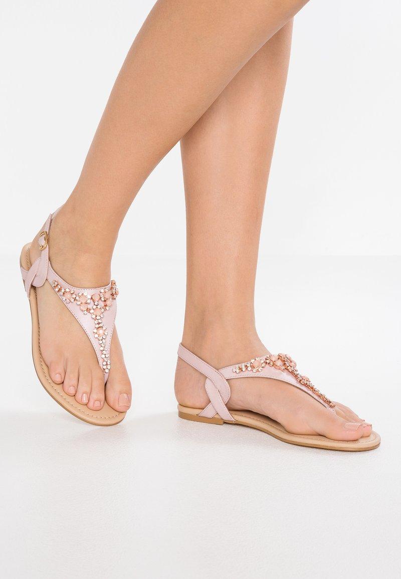 Anna Field Select - T-bar sandals - rose gold