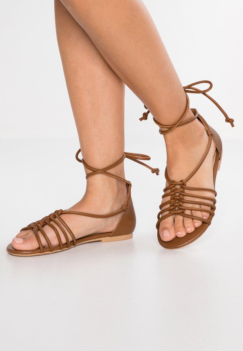 Anna Field Select - Sandals - cognac