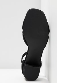 Anna Field Select - LEATHER SANDALS - Sandali - black - 6
