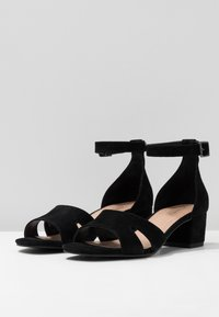 Anna Field Select - LEATHER SANDALS - Sandali - black - 4