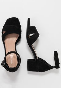 Anna Field Select - LEATHER SANDALS - Sandali - black - 3