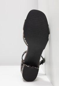 Anna Field Select - LEATHER SANDALS - Sandaler - black - 6