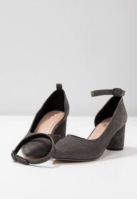 Anna Field Select - LEATHER CLASSIC HEELS - Tacones - grey - 7