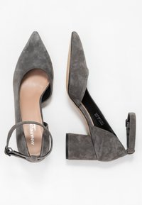 Anna Field Select - LEATHER CLASSIC HEELS - Tacones - grey - 3