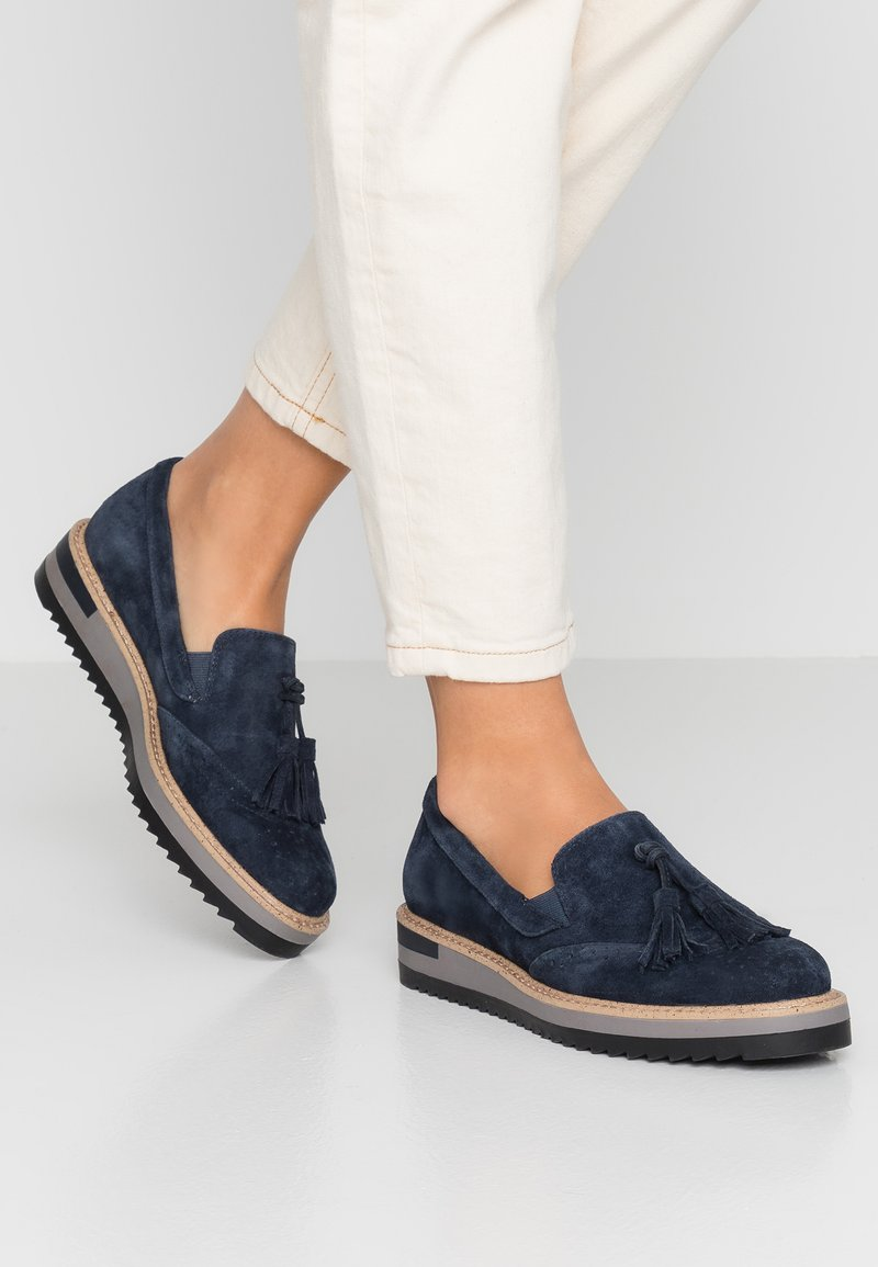 Anna Field Select - Loafers - dark blue