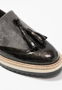 Anna Field Select - LEATHER SLIP-ONS - Slip-ons - grey - 2