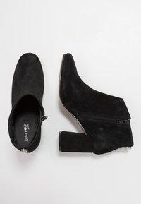 Anna Field Select - LEATHER ANKLE BOOTS - Kotníková obuv - black - 3