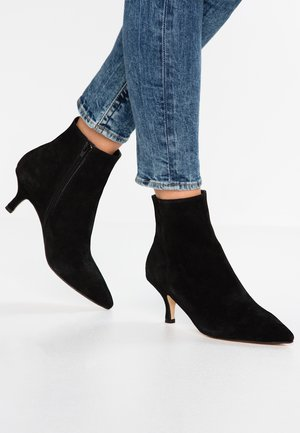 LEATHER CLASSIC ANKLE BOOTS - Stiefelette - black