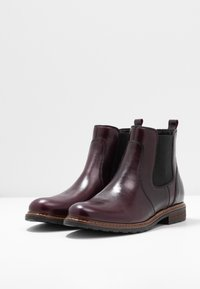 Anna Field Select - LEATHER ANKLE BOOTS - Ankle Boot - bordeaux - 4
