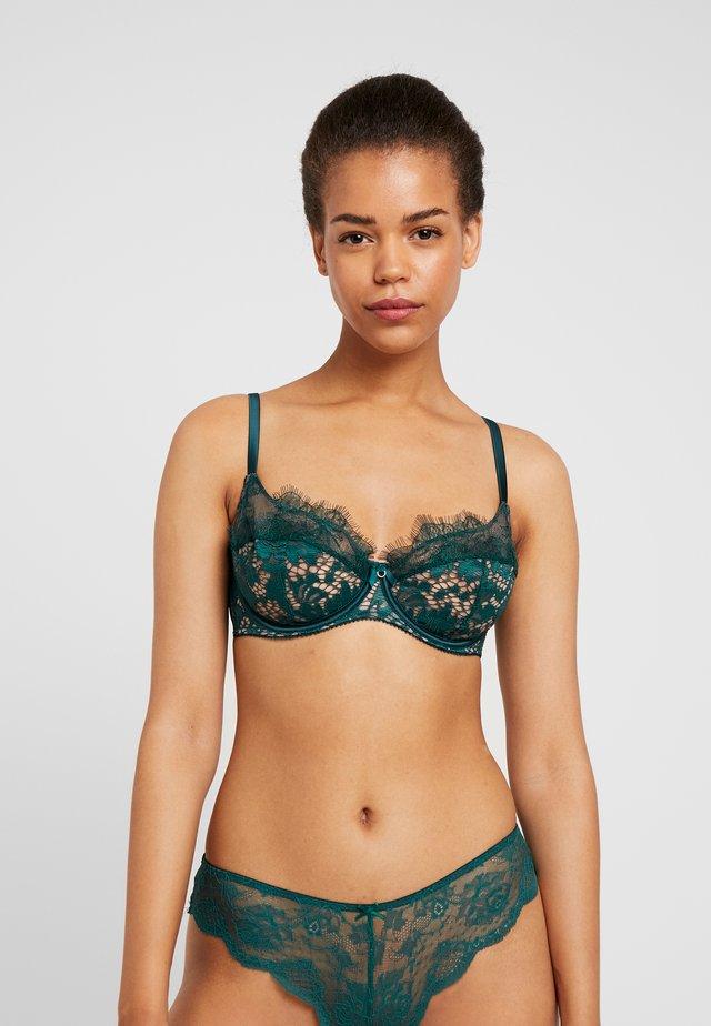 LOVE ME TRUE - Kaarituelliset rintaliivit - green