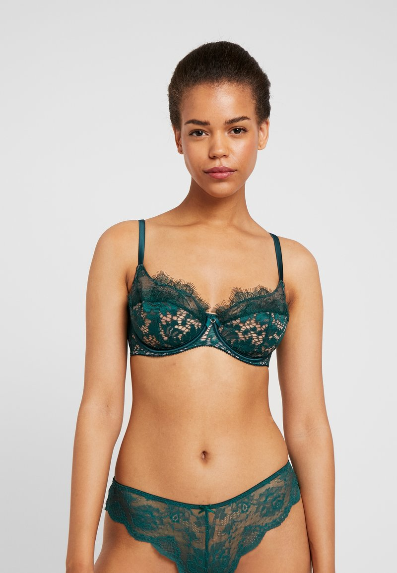 Ann Summers - LOVE ME TRUE - Bygel-bh - green
