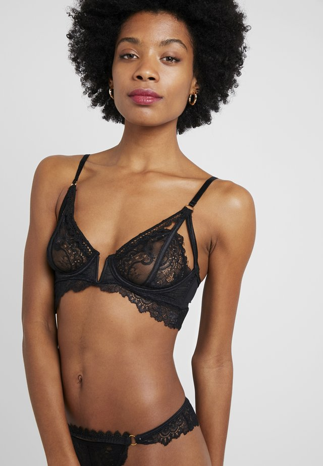 FLIRTY TOUCH BRA - Push-up BH - black