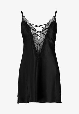 CHERRYANN CHEMISE - Pyjamaser - black