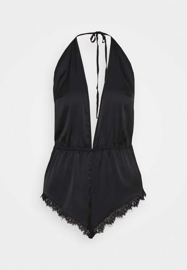 ANGELINA TEDDY - Pyjama - black