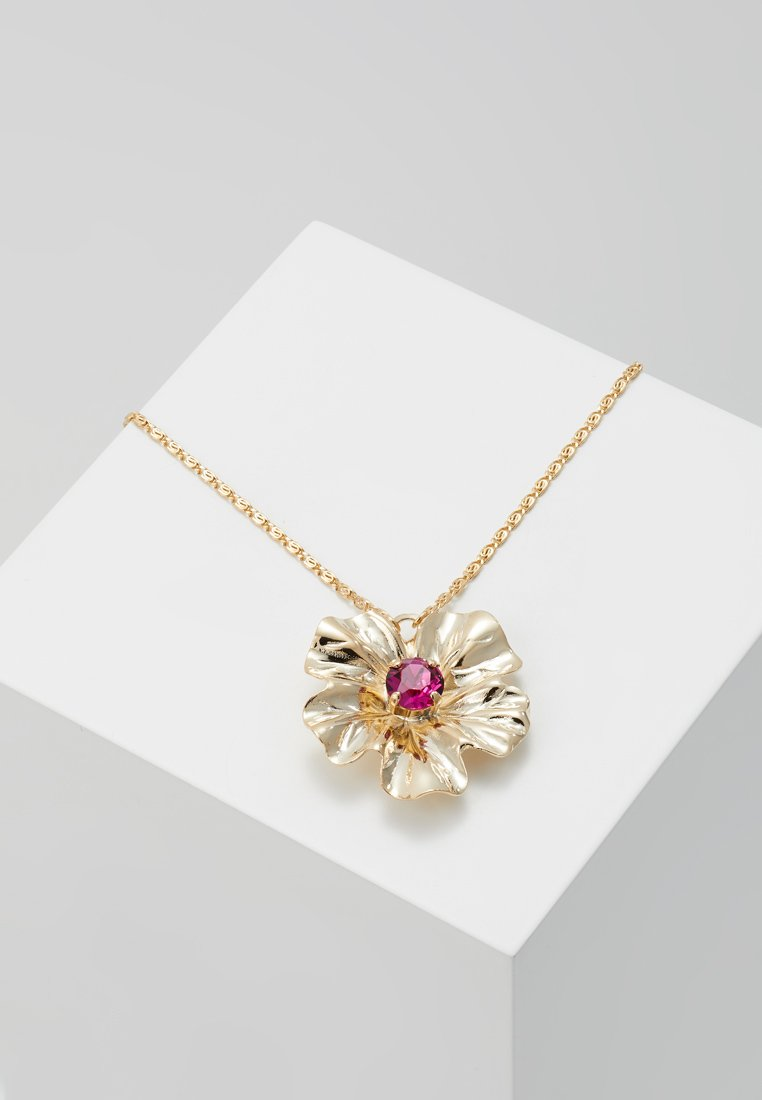 Anton Heunis - FLOWER PENDANT - Necklace - fuchsia