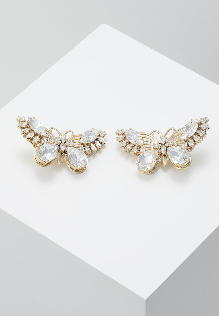 Anton Heunis - EARRING BUTTERFLY  - Ohrringe - clear crystal