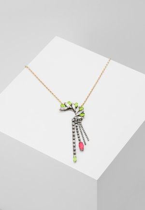 Necklace - neon/gunmetal-coloured/gold-coloured