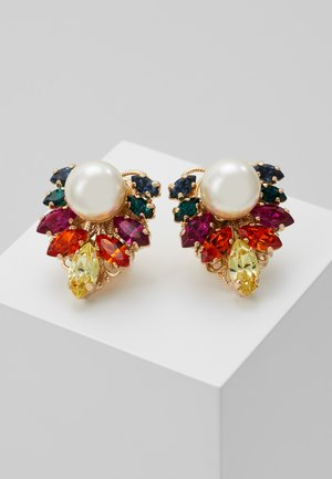 Earrings - rainbow /gold-coloured