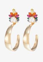 Boucles d'oreilles - rainbow/gold-coloured