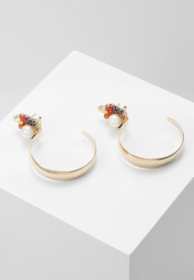 Orecchini - rainbow/gold-coloured