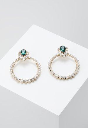 Ohrringe - green/gold-coloured
