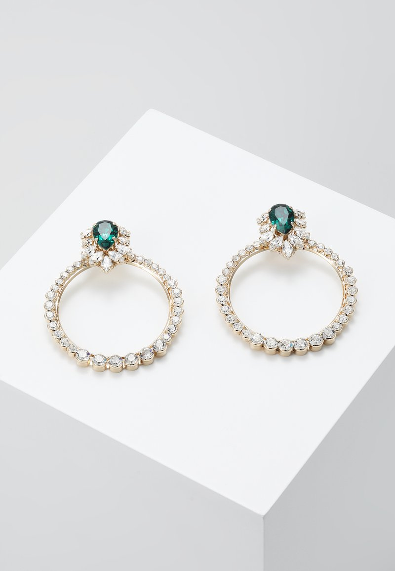 Anton Heunis - Earrings - green/gold-coloured