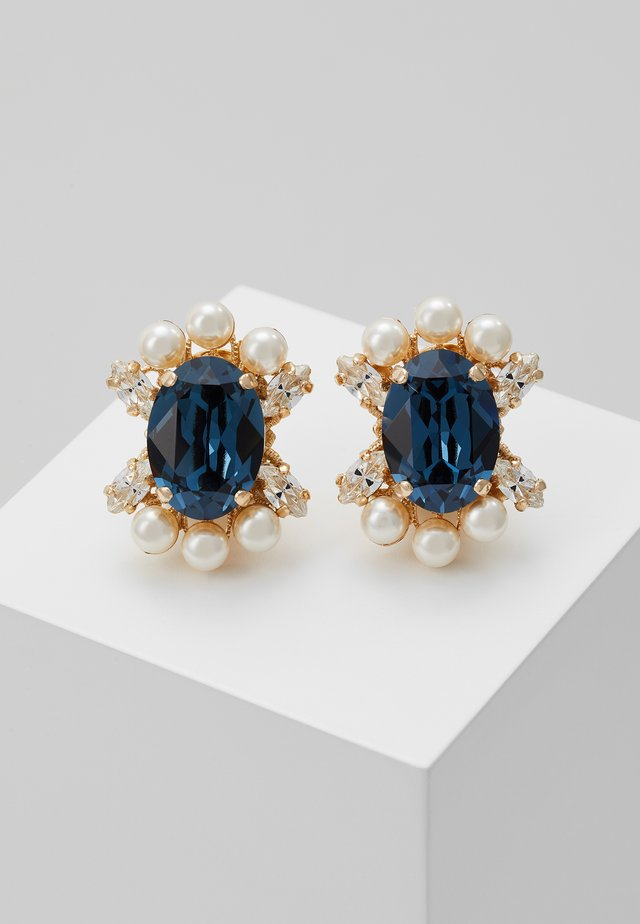 Orecchini - blue/gold-coloured
