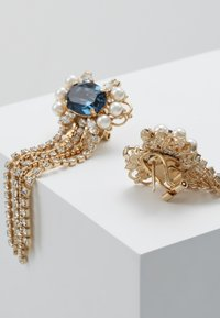 Anton Heunis - Earrings - blue /gold-coloured - 2