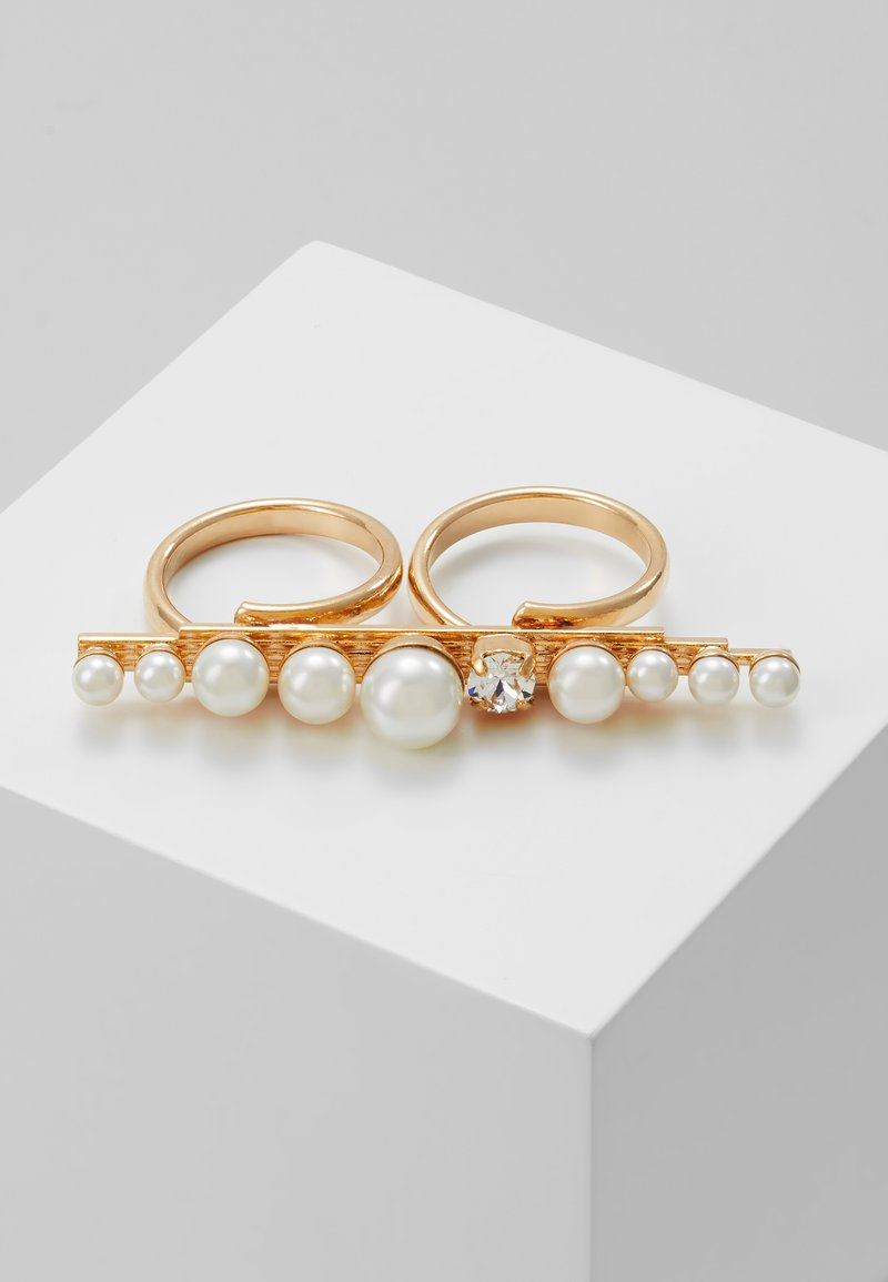 Anton Heunis - Ring - cream/gold-coloured