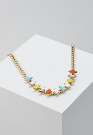 Náhrdelník - yellow/turquoise/orange