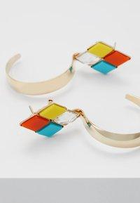 Anton Heunis - Ohrringe - yellow/turquoise/orange - 5