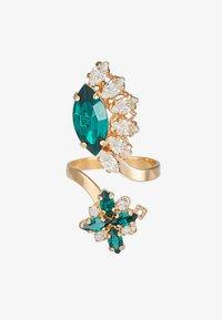 Anton Heunis - Ring - green/gold - 4
