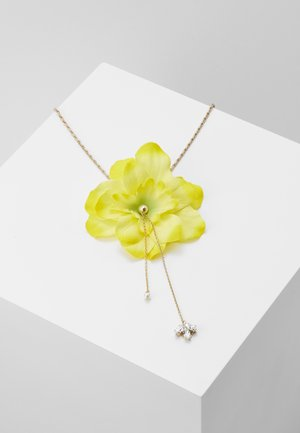 Necklace - yellow