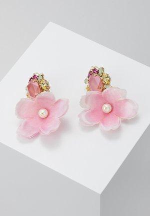 Kolczyki - pink